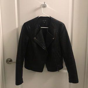 Topshop women's leather jacket US 6